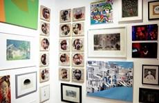 """第六次""""艺术为了你""""绘画雕刻展在胡志明市举行"""