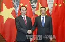 陈大光主席会见中国国务院总理李克强