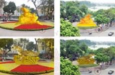 河内市驳回环剑湖乌龟铜像制作建议