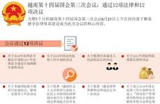 越南第十四届国会第三次会议:通过12项法律和12项决议