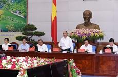 政府总理阮春福:坚定信心 努力完成2017年全年目标任务