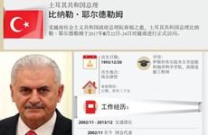 图表新闻:土耳其共和国总理比纳勒·耶尔德勒姆