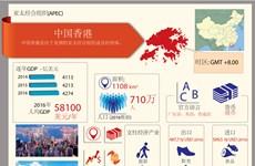 图表新闻:亚太经合组织成员经济体——中国香港