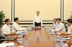 陈大光指导各有关部门为2017年APEC领导人会议周做好准备
