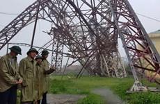 第十号台风登陆越南造成巨大人员和财产损失