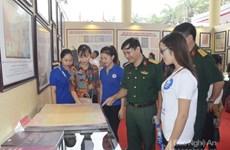 黄沙和长沙归属越南资料图片展在乂安省举行