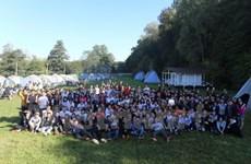 俄罗斯越南大学生夏令营热闹举行
