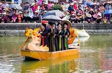 船上演唱有助于保护与弘扬北宁官贺民歌