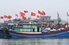 广南省渔民坚持出海捕捞   守护祖国黄沙 群岛主权