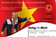 图表新闻:国际媒体高度评价越南U23足球队的顽强拼搏精神