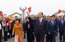 """国家主席陈大光出席2018年""""祖国各地春色节""""(组图)"""