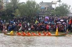 太平省渔民开海节热闹登场