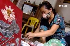 越南努力让磨漆艺术走出国门
