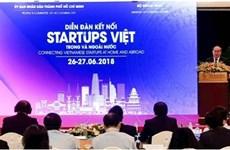 加强越南国内外创业企业的对接