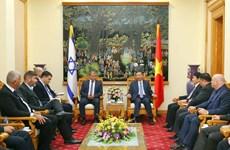 越南公安部长苏林会见以色列公安部总司长耶德里