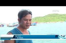 越南渔民靠海谋生的精神支柱