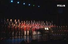 美国费城男童合唱团来越表演