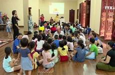 河内市儿童的特别英语班