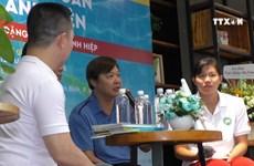 越南游泳运动员的自传正式问世