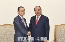 越南政府总理阮春福会见日本众议院研究代表团