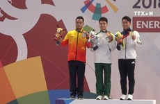 第18届亚运第三日:越南武术运动员获得两枚奖牌