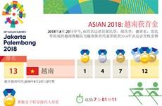 图表新闻:越南收获ASIAD 2018首金