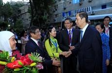 越南国家主席陈大光开始对埃及进行国事访问(组图)