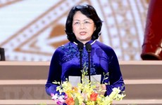 国家副主席邓氏玉盛担任国家代理主席职务