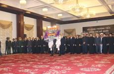 原越共中央总书记杜梅吊唁仪式在胡志明市举行(组图)