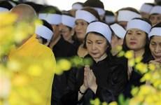 原越共中央总书记杜梅追悼会在河内和胡志明市隆重举行(组图)