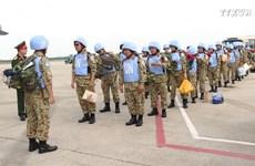 越南赴南苏丹维和二级野战医院第二批医疗队出征