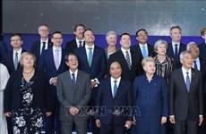 越南政府总理阮春福在第12届亚欧首脑会议上发言
