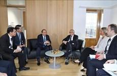 ASEM 12: 越南政府总理阮春福会见欧盟委员会主席让-克洛德·容克