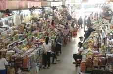 进入腊月 岘港市年货市场活跃