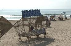 巨型虾虎鱼垃圾收集器向人类敲响环保警钟