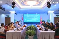 第10届越南-新加坡防务政策对话在胡志明市开幕