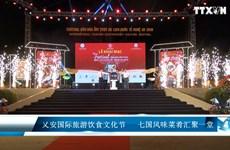 乂安国际旅游饮食文化节   七国风味菜肴汇聚一堂