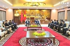 河内促进与中国广东的合作关系