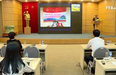 越中投资贸易促进视频会议   增强企业的交流合作