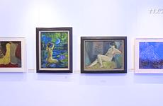 裸体绘画专题展首次亮相河内
