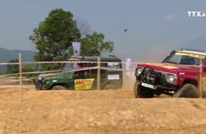 越南最具规模的汽车场地越野锦标赛