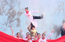 """""""秋天的回忆""""活动再现了65年前的首都河内"""