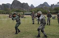 东盟与8个伙伴国的反恐实地演习圆满结束