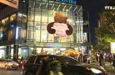 胡志明市色彩缤纷的圣诞节