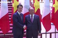 意大利总理朱塞佩·孔特对越南进行正式访问