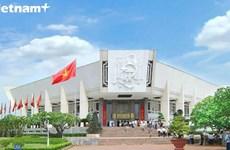 胡志明博物馆——存放关于胡伯伯珍贵实物的地方