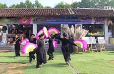迎新年山区集市在越南各民族文化旅游村举行