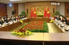 进一步加强越南国会和中国全国人民代表大会的合作关系