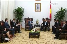 越南政府总理阮春福会见新西兰驻越大使海克•曼宁