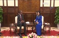 越南国会副主席会见联合国儿童基金会副执行主任